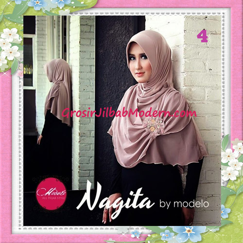 Jilbab Instant Terbaru Trendy Nagita Seri 3 Original by Modelo No 4