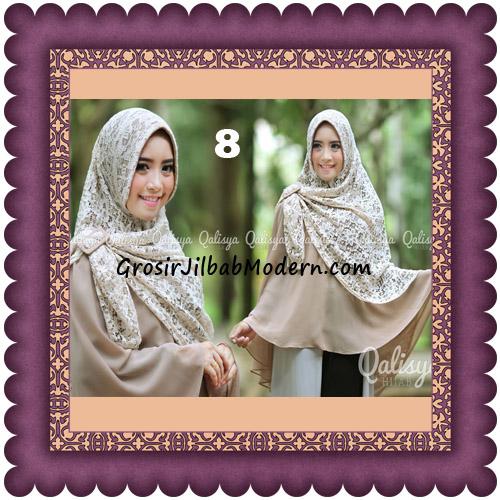 Jilbab Khimar Syar'i Halwa Brukat Modis Trendy By Qasilya Brand No 8 Coksu