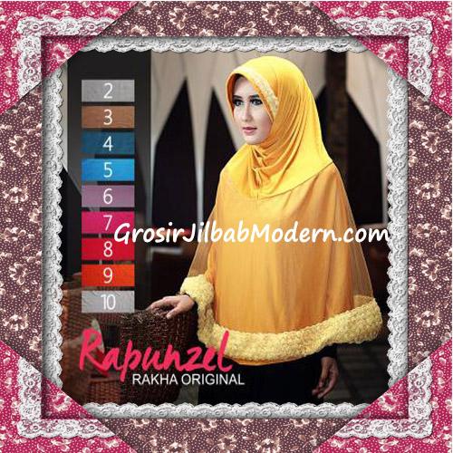 Jilbab Syar'i Bergo Rapunzel Elegan Original by Rakha