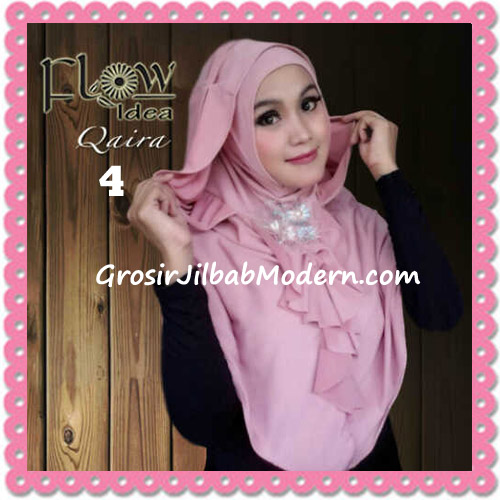 Jilbab Syria Instant Kapucong Qaira Original By Flow Idea No 4 Pink
