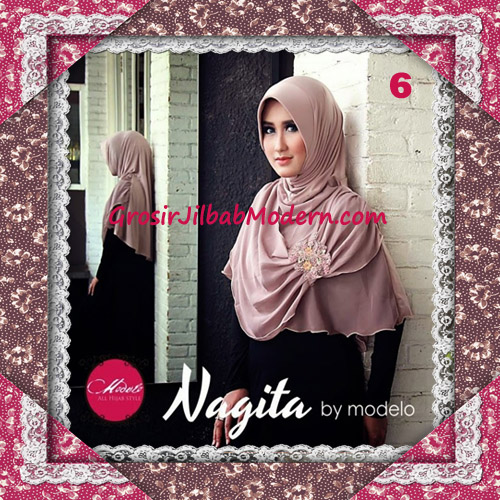 Hijab Instant Modis Trendy Nagita Seri 4 Original by Modelo No 6 Coksu