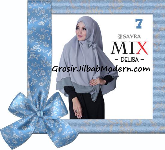 Jilbab Cerutti Modis Delisa Mix Original By Sayra No 7