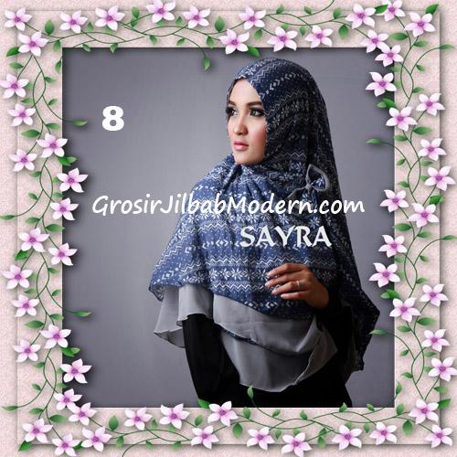Jilbab Cerutti Nyentrik Khimar Etnik Original by Sayra No 8