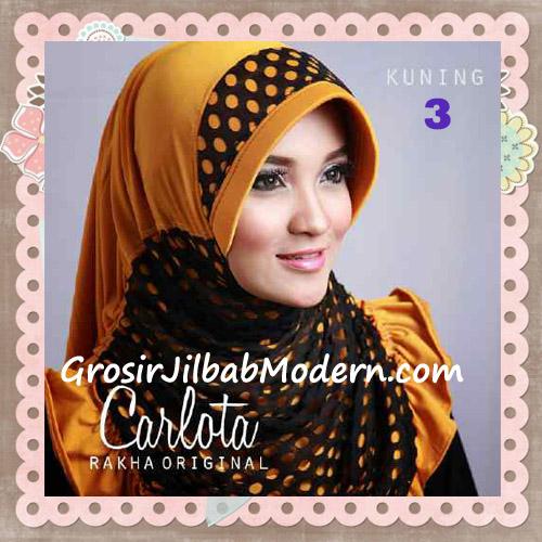 Jilbab Harian Cantik Modis Carlota Original By Rakha Brand No 3 Kuning