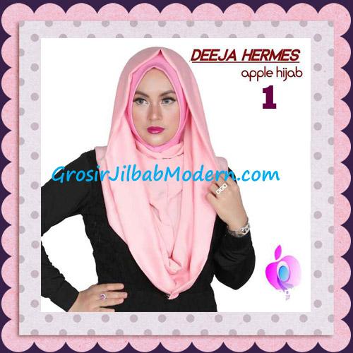 Jilbab Hoodie Instant Trendy Deeja Hermes Original By Apple Hijab Brand No 1 Dusty Pink