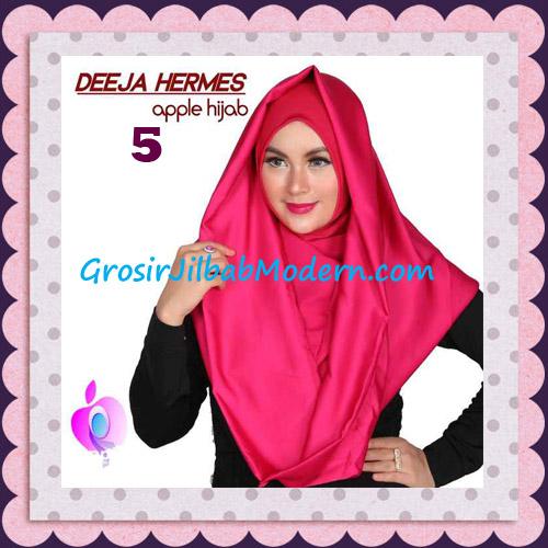 Jilbab Hoodie Instant Trendy Deeja Hermes Original By Apple Hijab Brand No 5 Fuchia