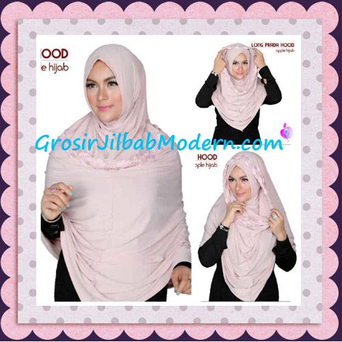 Jilbab Instant Long Prada Hoodie Modis Original By Apple Hijab Brand - Tutorial