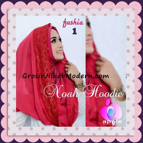 Jilbab Instant Modern Modis Noah Hoodie Original By Apple Hijab Brand No 1 Fushia