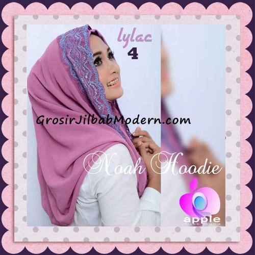 Jilbab Instant Modern Modis Noah Hoodie Original By Apple Hijab Brand No 4 Lylac