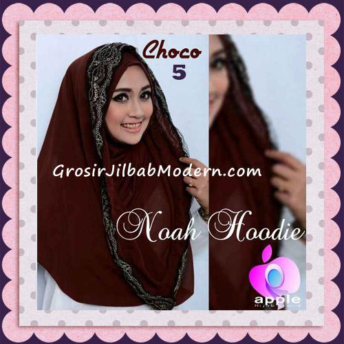 Jilbab Instant Modern Modis Noah Hoodie Original By Apple Hijab Brand No 5 Choco