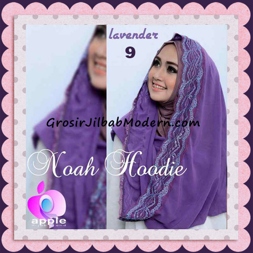 Jilbab Instant Modern Modis Noah Hoodie Original By Apple Hijab Brand No 9 Lavender