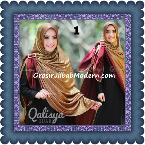 Jilbab Khimar Syar'i Elegan dan Modis Qudsiy Original by Qalisya No 1 Marun