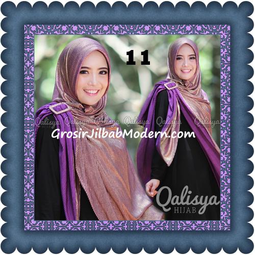 Jilbab Khimar Syar'i Elegan dan Modis Qudsiy Original by Qalisya No 11 Ungu