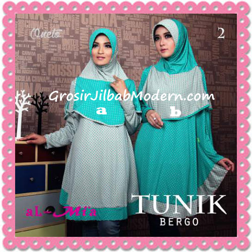 Jilbab Lengan Tunik Bergo Cantik Original By AlMia 2
