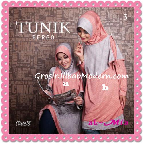Jilbab Lengan Tunik Bergo Cantik Original By AlMia 3