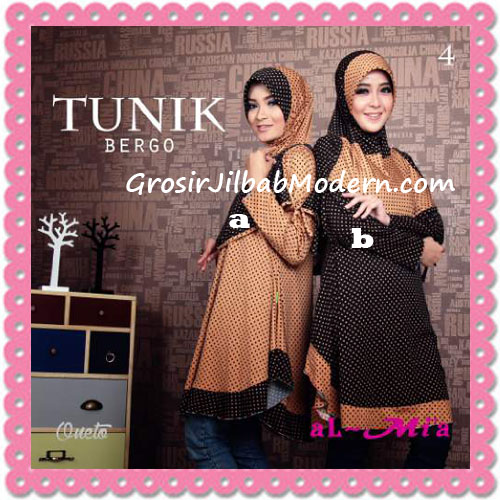 Jilbab Lengan Tunik Bergo Cantik Original By AlMia 4