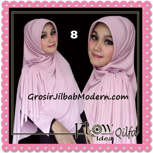 Jilbab Modern Instant Syria Qilfa Original Flow Idea No 8 Baby Pink1