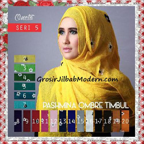 Jilbab Pashmina Ombre Timbul Seri 5 Modis Series