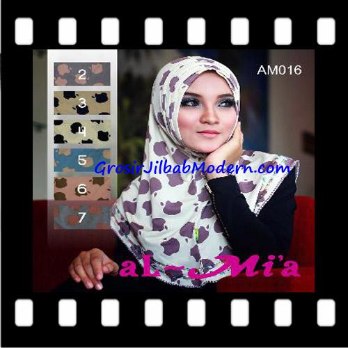 Jilbab Syria Instant Simple Almia Seri 16 Original Al-Mi'a Brand Series