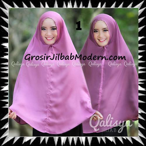 Jilbab Basic Khimar Bolak Balik Cantik Original By Qalisya No 1