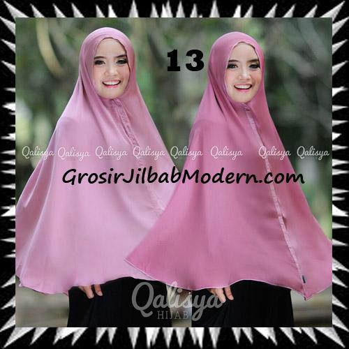 Jilbab Basic Khimar Bolak Balik Cantik Original By Qalisya No 13
