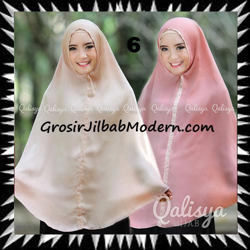 Jilbab Basic Khimar Bolak Balik Cantik Original By Qalisya No 6