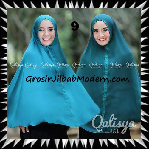 Jilbab Basic Khimar Bolak Balik Cantik Original By Qalisya No 9