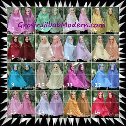 Jilbab Basic Khimar Bolak Balik Cantik Original By Qalisya Series