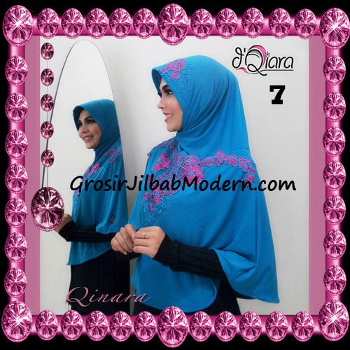 Jilbab Bergo Syar'i Modis Qinara Original By D'Qiara Brand No 7