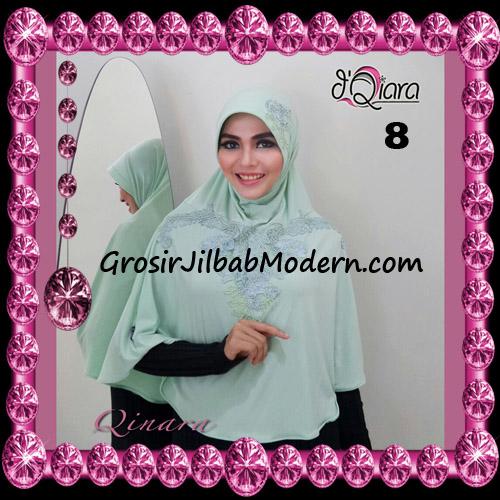 Jilbab Bergo Syar'i Modis Qinara Original By D'Qiara Brand No 8