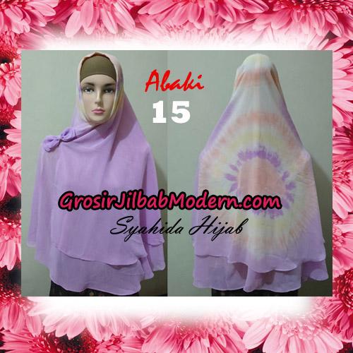 Jilbab Cerutti Tiedye Jumbo Terbaru Khimar Abaky Original By Syahida Brand No 15