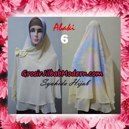 Jilbab Cerutti Tiedye Jumbo Terbaru Khimar Abaky Original By Syahida Brand No 6