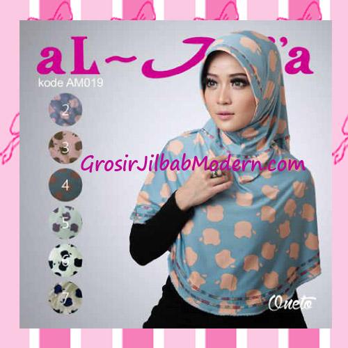 Jilbab Instant Simple Bergo Pet Almia Seri 19