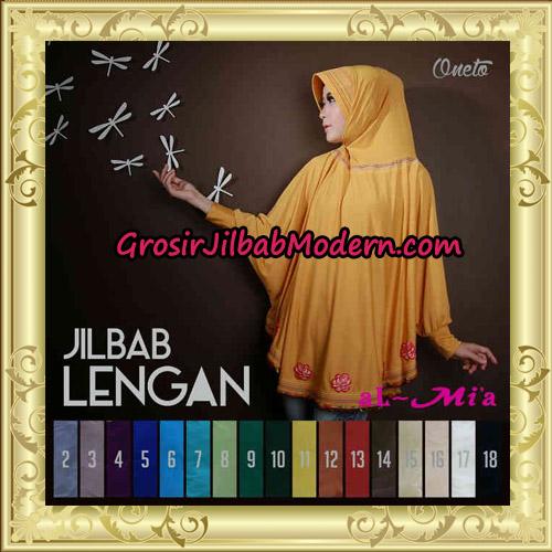 Jilbab Lengan Batwing Cantik Original Al-Mi'a Brand