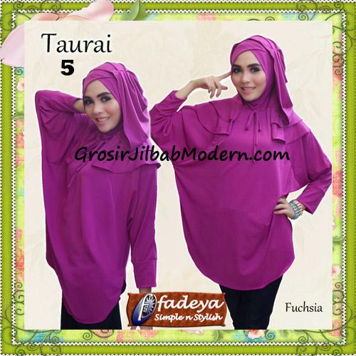 Jilbab Lengan Tanpa Pet Cantik Taurai Original By Fadeya No 5 Fuchia
