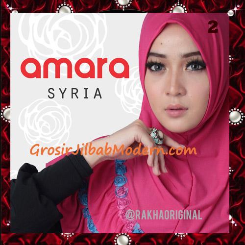 Jilbab Modern Cantik Syria Amara Original By Rakha Brand No 2