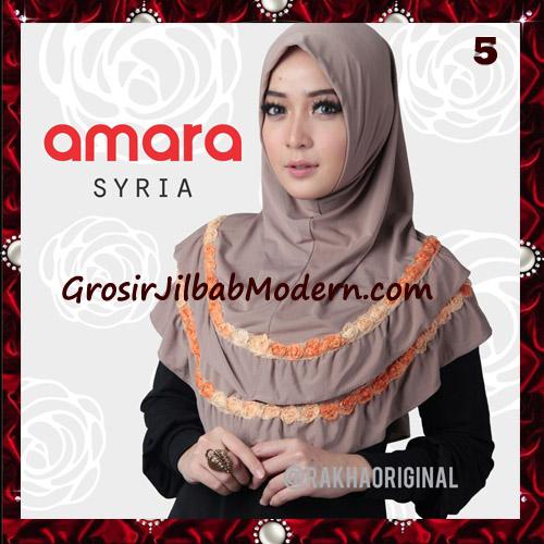 Jilbab Modern Cantik Syria Amara Original By Rakha Brand No 5