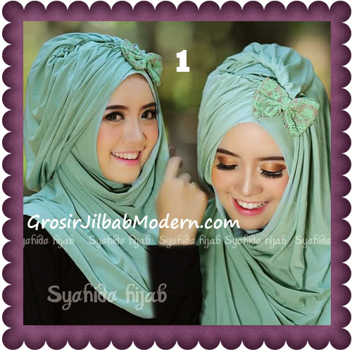 Jilbab Modern Pashmina Instan Laila Cantik Original by Syahida No 1