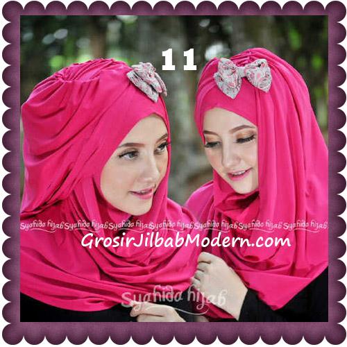 Jilbab Modern Pashmina Instan Laila Cantik Original by Syahida No 11