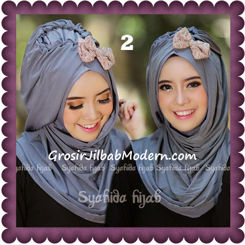 Jilbab Modern Pashmina Instan Laila Cantik Original by Syahida No 2