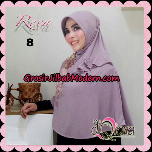Jilbab Syria Pet Instant Reva Original By d'Qiara Hijab Brand No 8