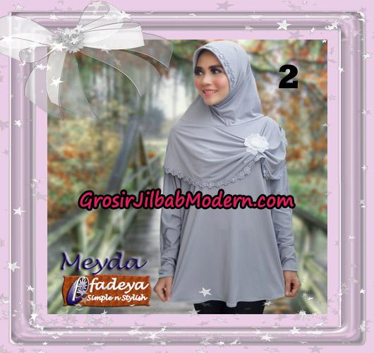 Jilbab Bergo Lengan Cantik Meyda Original By Fadeya Brand No 2