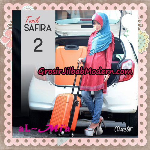 Jilbab Bergo Lengan Instant Tunik Safira Original By Almia ( Al-Mi'a ) Brand No 2