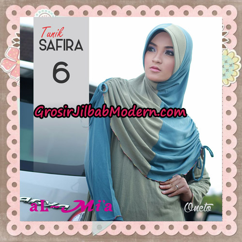Jilbab Bergo Lengan Instant Tunik Safira Original By Almia ( Al-Mi'a ) Brand No 6