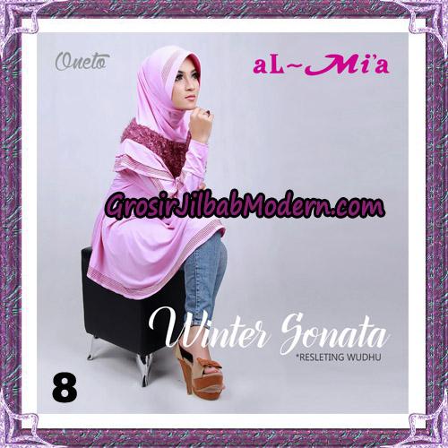 Jilbab Bergo Lengan Instant Tunik Winter Sonata Original By Almia ( Al-Mi'a ) Brand No 8
