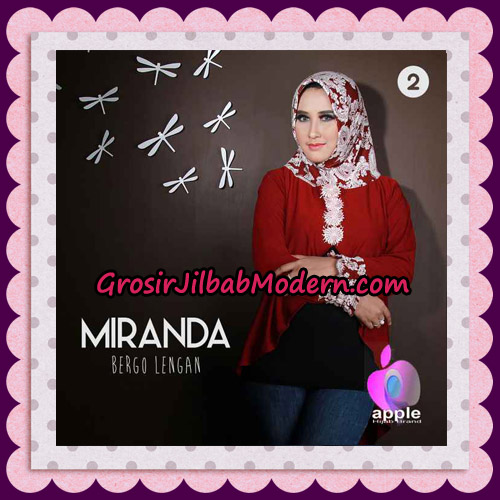 Jilbab Bergo Lengan Modis Premium Miranda Original By Apple Hijab Brand No 2