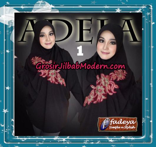 Jilbab Bergo Lengan Trendy Adela Original By Fadeya Brand No 1