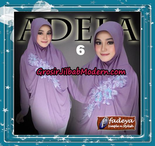 Jilbab Bergo Lengan Trendy Adela Original By Fadeya Brand No 6
