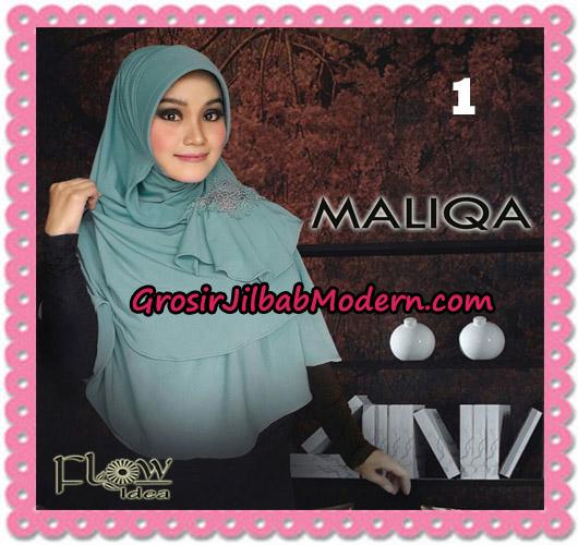 Jilbab Bergo Modis Syria Maliqa Original By Flow Idea No 1 Dusty Tosca