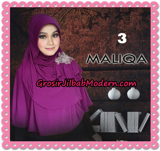Jilbab Bergo Modis Syria Maliqa Original By Flow Idea No 3 Fuchia Ungu